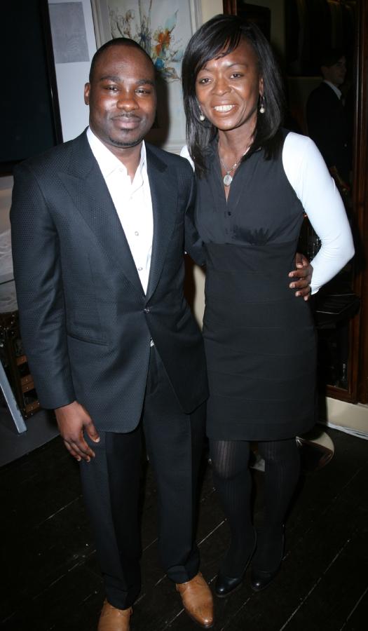 Alexander Amosu and Ronke Phillips