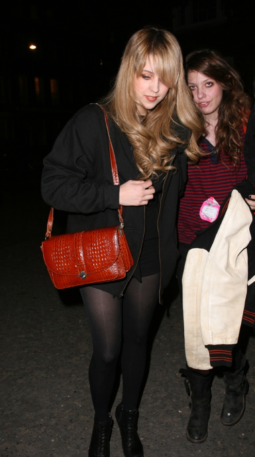 Peaches Geldof and Friend