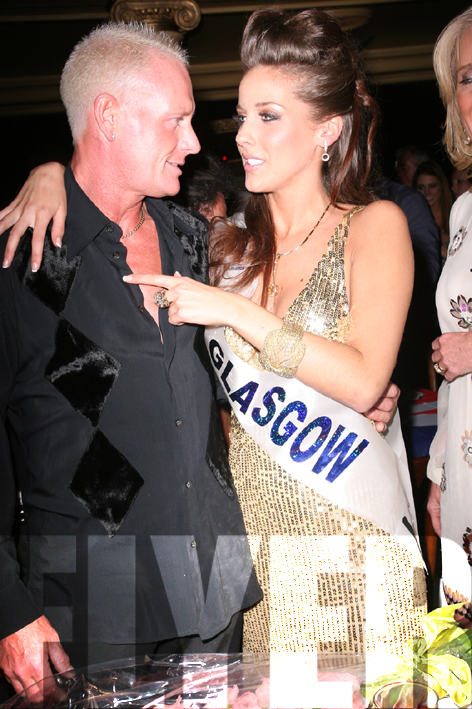 Gazza with Ms Glasgow
