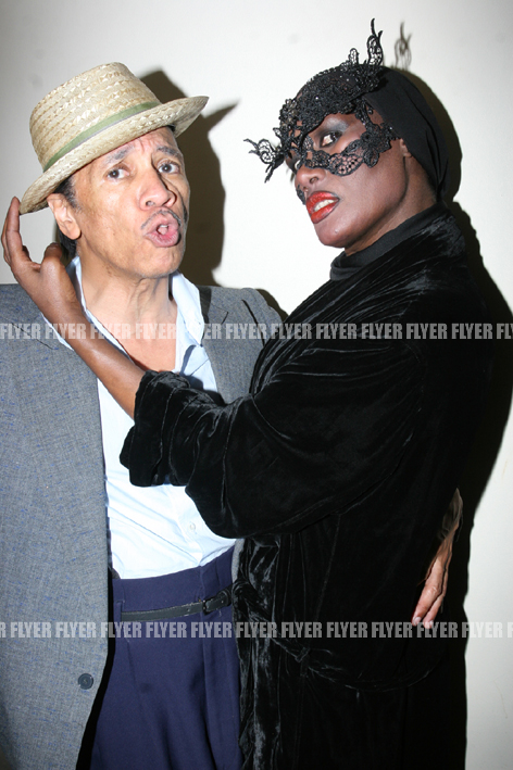 Grace Jones and Kid Creole