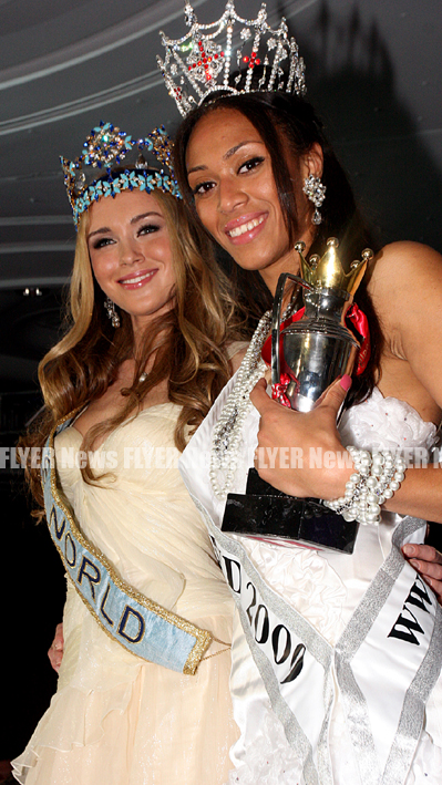 Miss World and Miss England