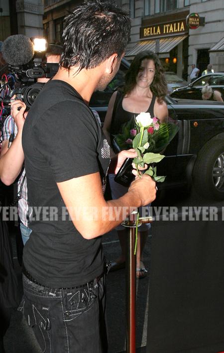 Peter Andre - flower