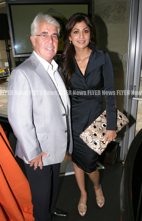 Max Clifford and Shilpa Shetty