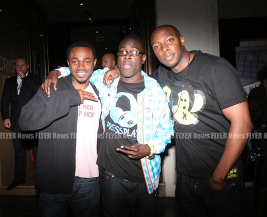 Namure Aibangbee, Kojo and DJ Longers