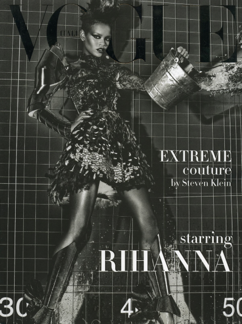 Rihanna Vogue Italia September 09 Supplement Cover