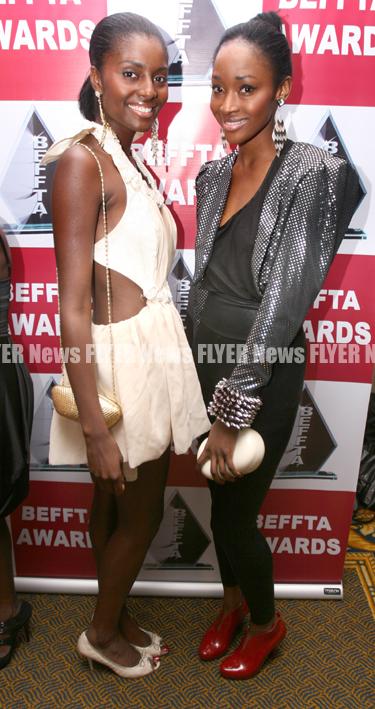 Rachael Williams and Hannah Osunsina