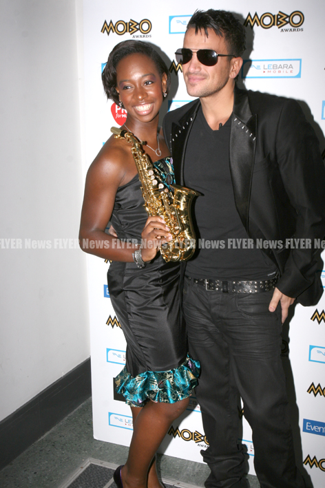 Yolanda Brown and Peter Andre