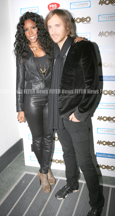 Kelly Rowland and David Guetta