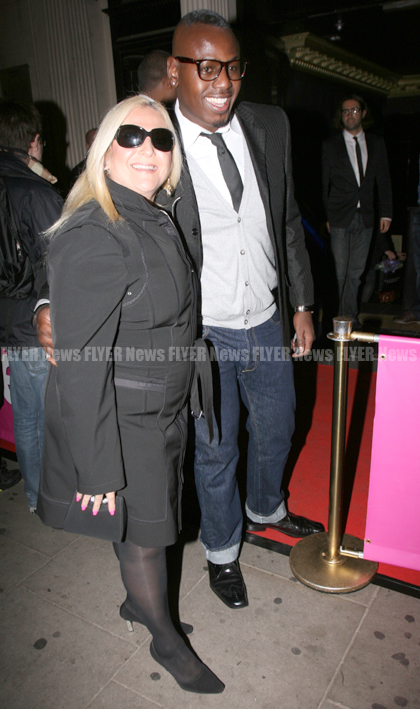 Vanessa Feltz and her man