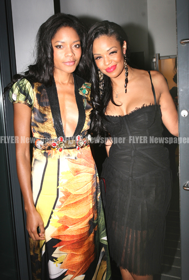 Naomi Harris and Sarah-Jane Crawford