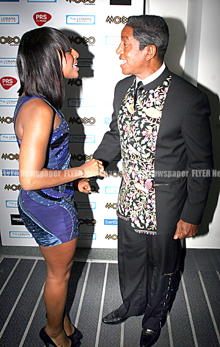 Alexandra Burke and Jermaine Jackson
