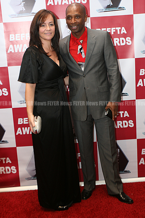 Andy Abraham and wife