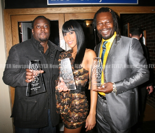 Sway, Egypt and Levi Roots